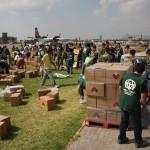 Hilfsaktion nach Erdbeben in Chile