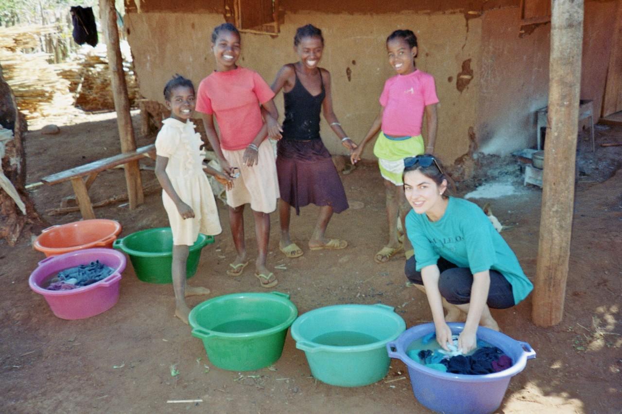Waschtag auf Madagaskar