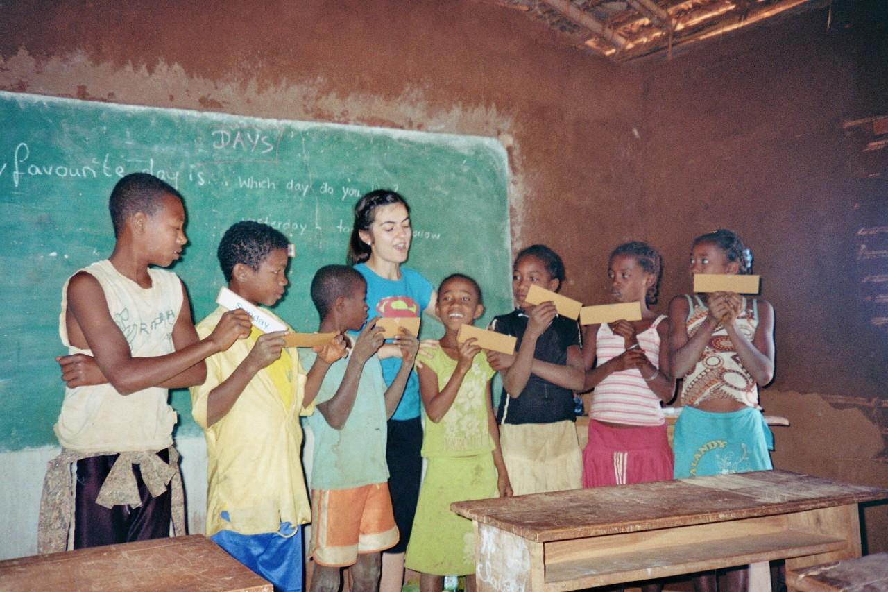 Englisch lernen auf Afrikanisch