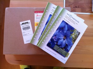 Die neuen transparent-Hefte sind da!