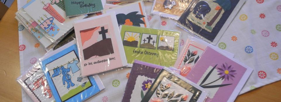 Mit diesen Karten machen Sie eine Freude und unterstützen eine gute Sache.