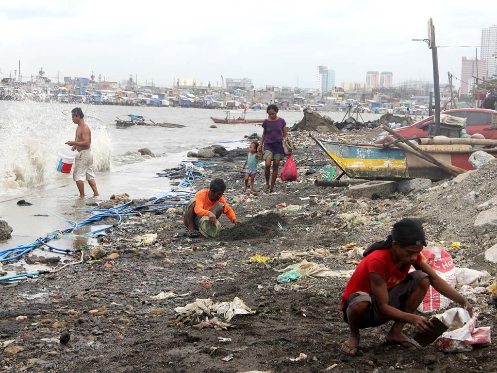 Alltag im Slum. Foto: Cherina Ducusin