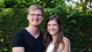 Unser Pastor Philipp Schmalenbach mit seiner Frau Kathi